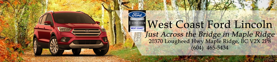 West Coast Ford Lincoln Blog header image